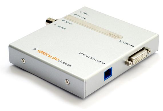 Sdi To Dvi Copper Fiber Optic Converter Foreseeson